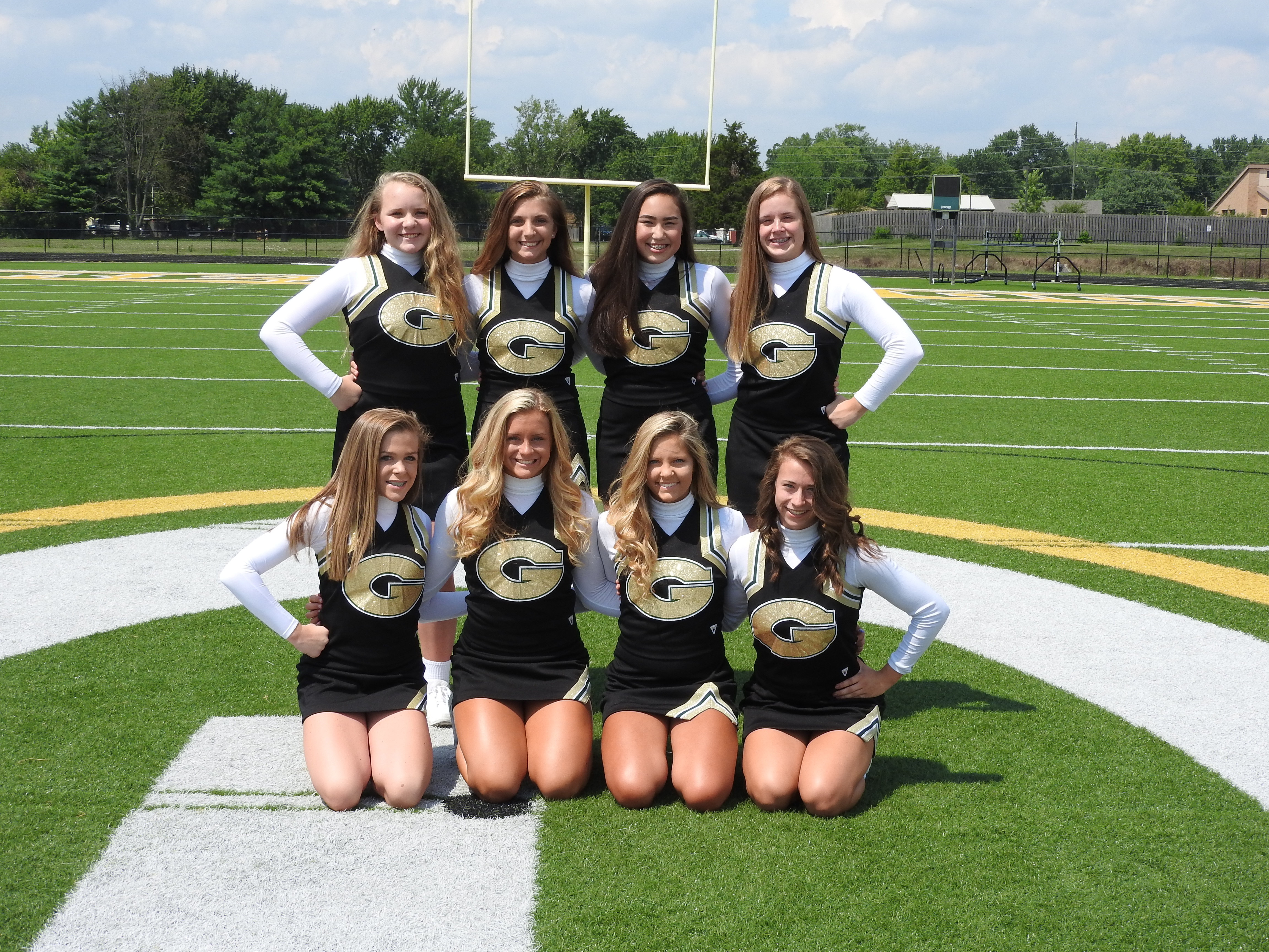 JV Cheerleading 3