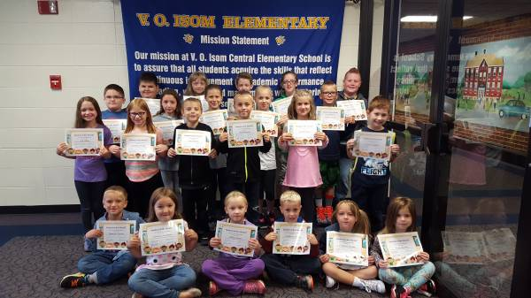 Congratulations to our August Students of the Month